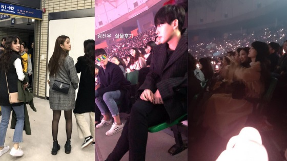 Red Velvet Twice Winner And More Attend Blackpink S Concert In