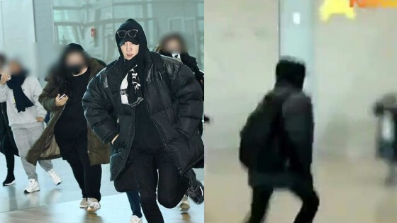 EXO Chanyeol Is Literally Running Away For His Life From Sasaengs At
