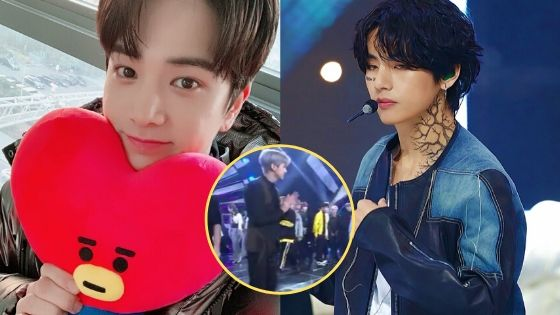 Why This Cute Interaction Between Bts V And The Boyz S Younghoon Is Going Viral Jazminemedia